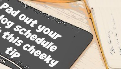 Need Blog Post Ideas? Pad Out Your Schedule With This Simple Suggestion