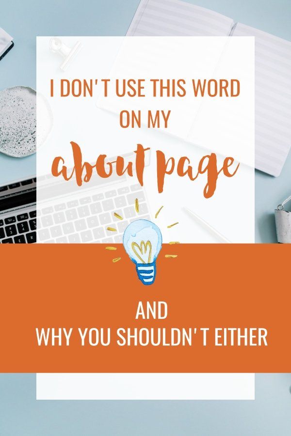 About page ideas website copywriting website content