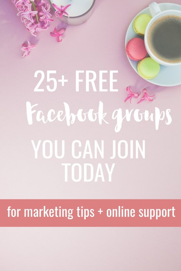 Facebook groups for business owners