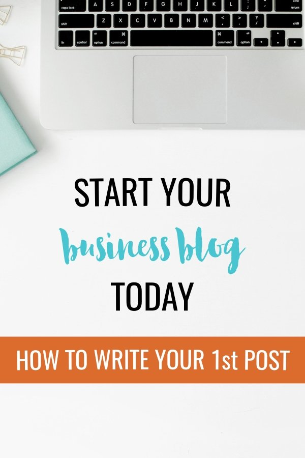 First Business Blog Post