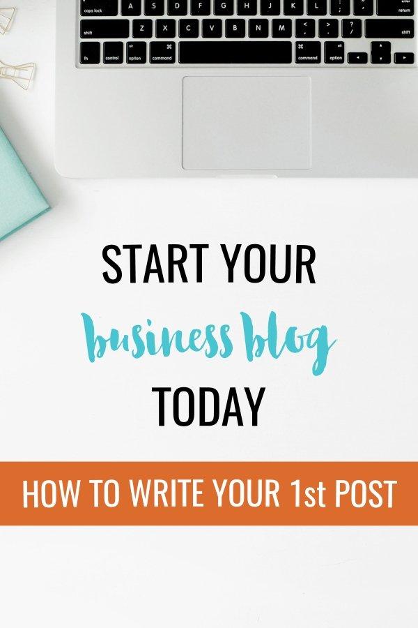 First Business Blog Post