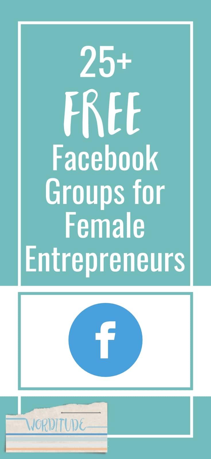 Facebook Groups for female entrepreneurs