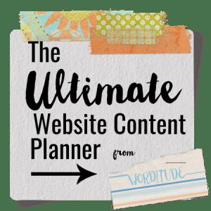 Website Content Planner
