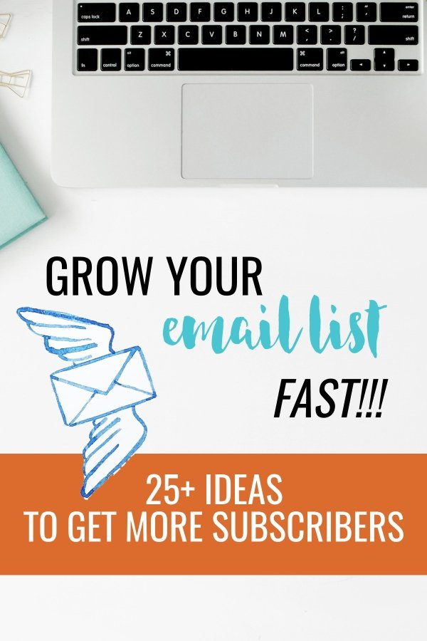 Email List Building Ideas