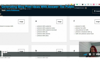 Get Blog Post Ideas For Your Small Business | Use This Free Tool