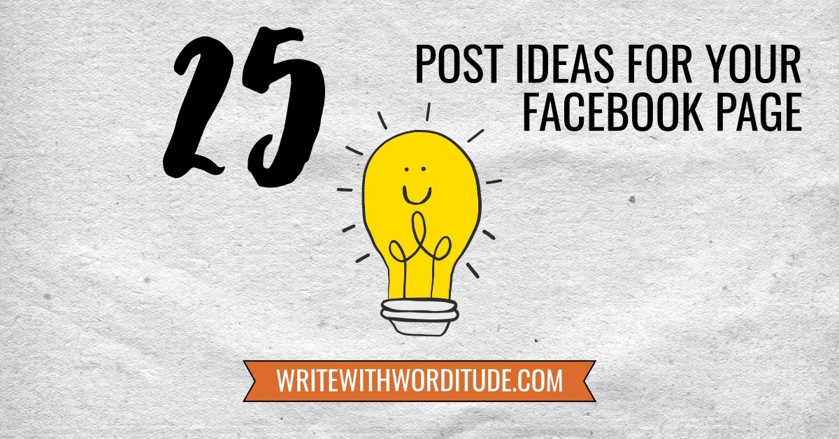 Facebook Page Post Tips For Business
