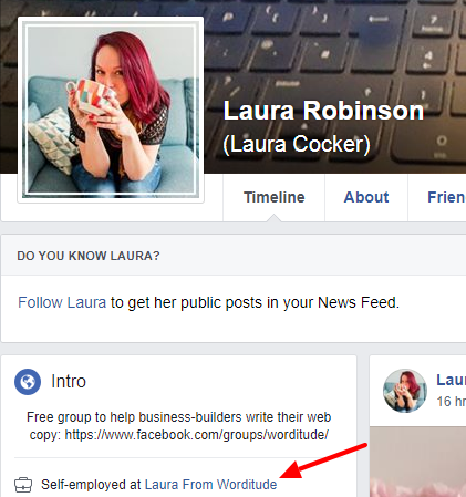 Facebook Page for Business Tips