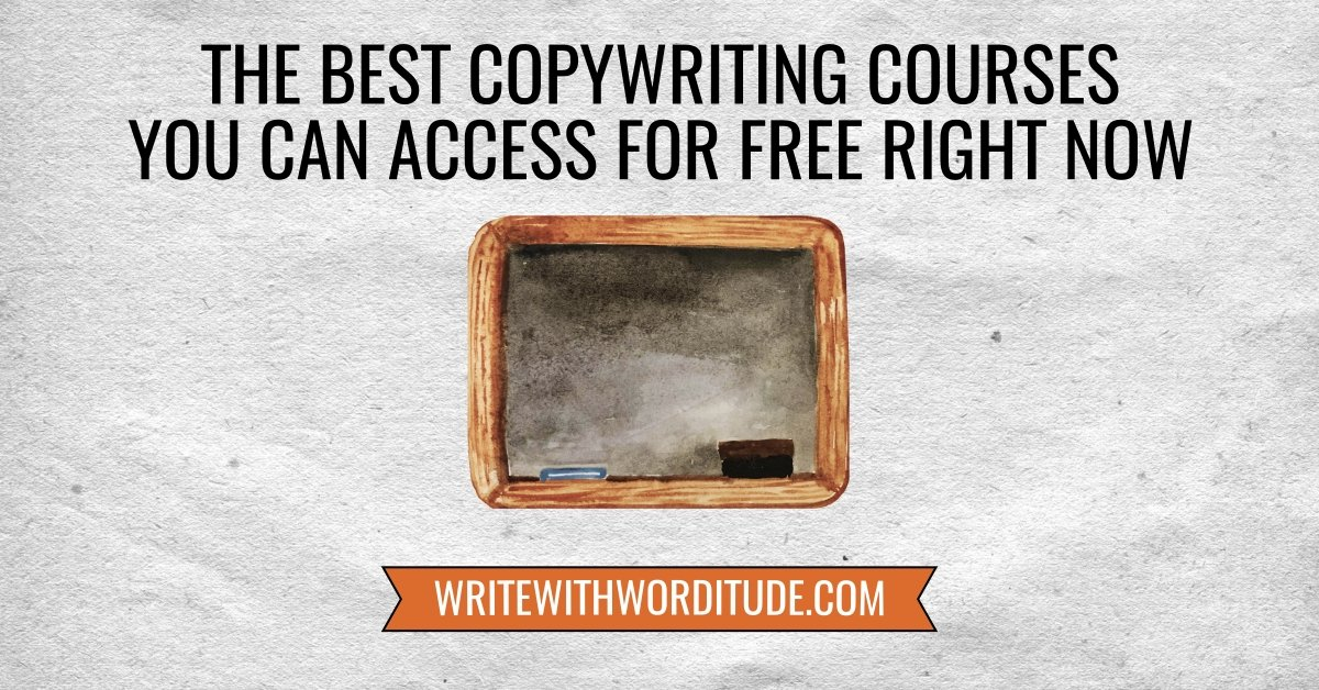 Free copywriting courses online