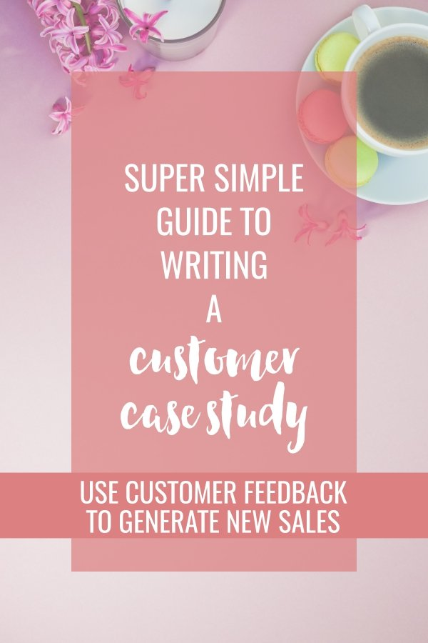 Great customer feedback idea. Turn that glowing customer testimonial into an engaging story. This super simple guide shows you how to write an attention-getting, sales-generating, customer case study.