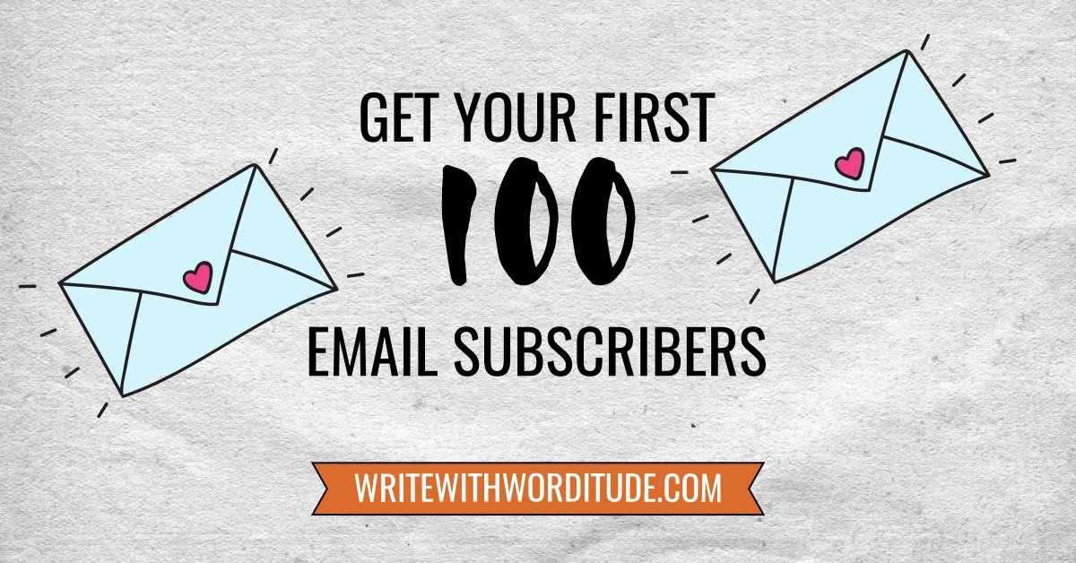 List building for small businesses - get your first 100 email subscribers