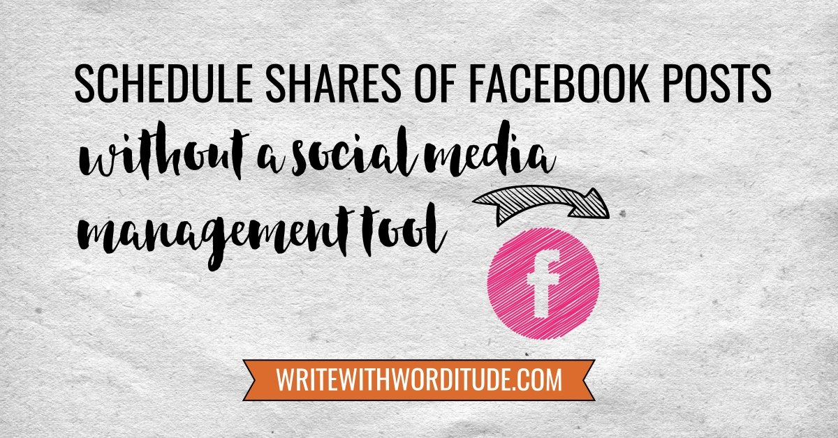 Schedule Facebook Post Shares