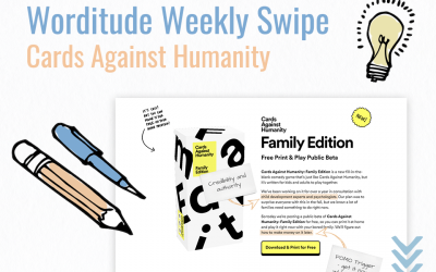 Weekly Swipe – Cards Against Humanity