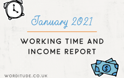 January 2021 Working Time And Income Report