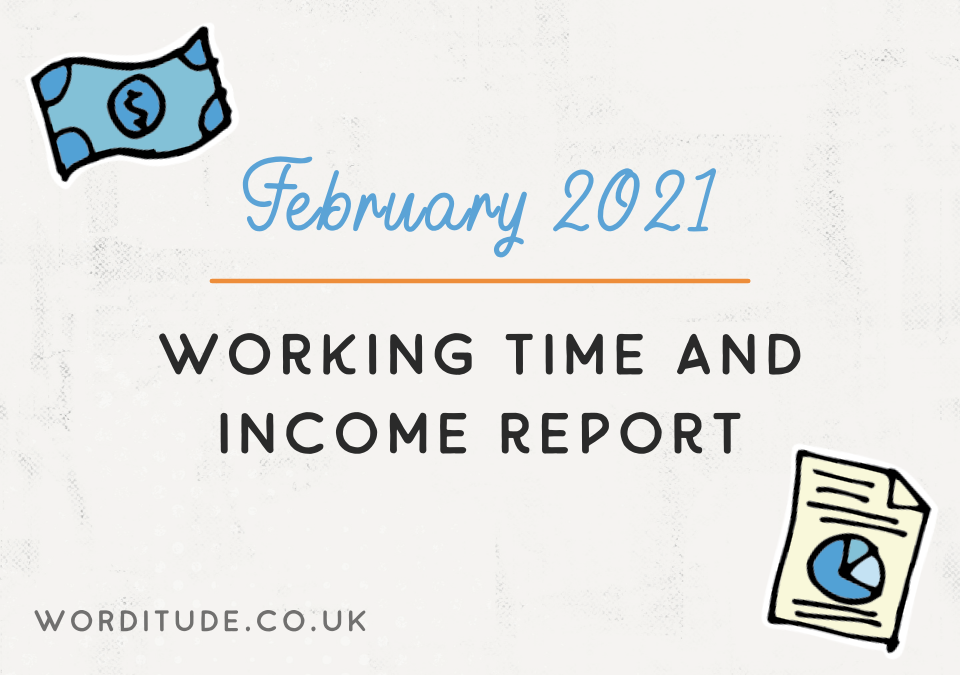 February 2021 Working Time And Income Report