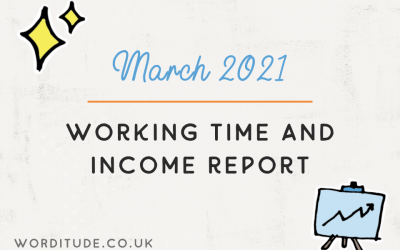 March 2021 Working Time And Income Report