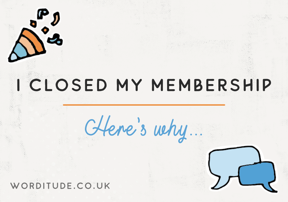 I closed my membership after five years – here's why