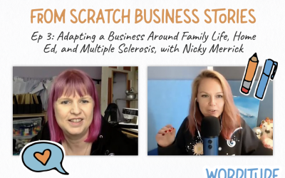 From Scratch Business Stories: Building a business with a chronic condition, with Nicky Merrick