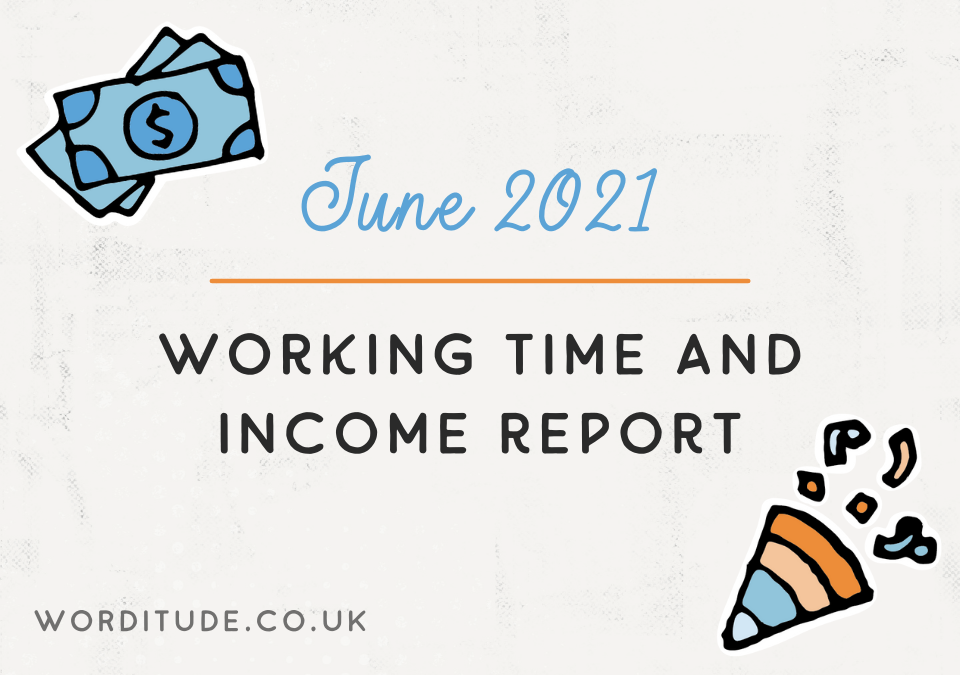 June 2021 Working Time And Income Report